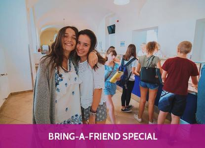 Bring-a-friend Special