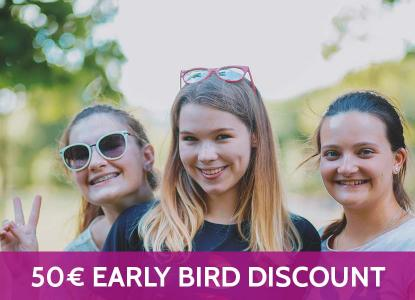 EUR 50,- Early Bird Discount!