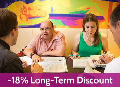 Long-Term-Discount 18 %
