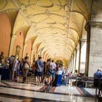Arcades at the courtyard of the University of Vienna