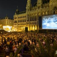 Summer Film-Festival at Vienna's Rathausplatz