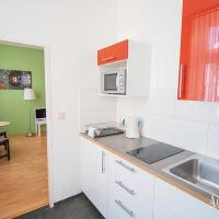 Every Superior apartment is furnished with a fuly equipped kitchen for private use ...