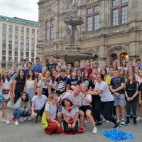 ActiLingua students having fun exploring Vienna