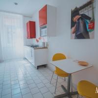 Fully equipped kitchen in every apartment of the ActiLingua Residence