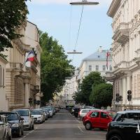 Centrally located in Vienna's embassy district