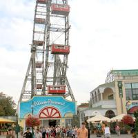 Having fun discovering the Wiener Prater ...