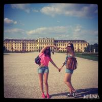 We love Schloss Schoenbrunn