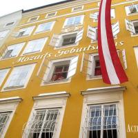 visit Mozart's birthplace