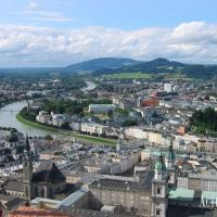 Enjoy the view over Salzburg city and