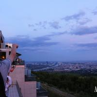 Enjoy the view of Vienna from the top