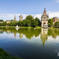 Visiting Laxenburg Castle in lower Austria