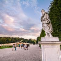 Take a walk in the parks of Schoenbrunn
