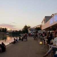 Explore Vienna's most popular bars and clubs at the Danube's riverside
