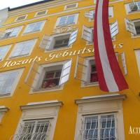 Visit Mozarts Birtplace in Salzburg and