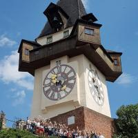 On our trip to Graz you get to see the city´s famous Uhrturm