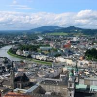 enjoy the beautiful view from Salzburg´s castle