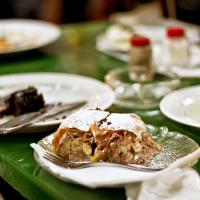 ... and enjoy 'Apfelstrudel' as dessert